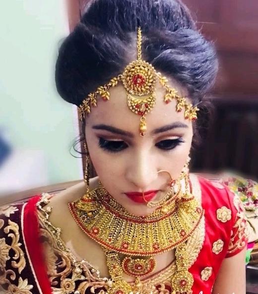 airbrush makeup bridal