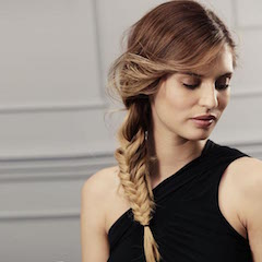 Side Fish Braid hairstyles