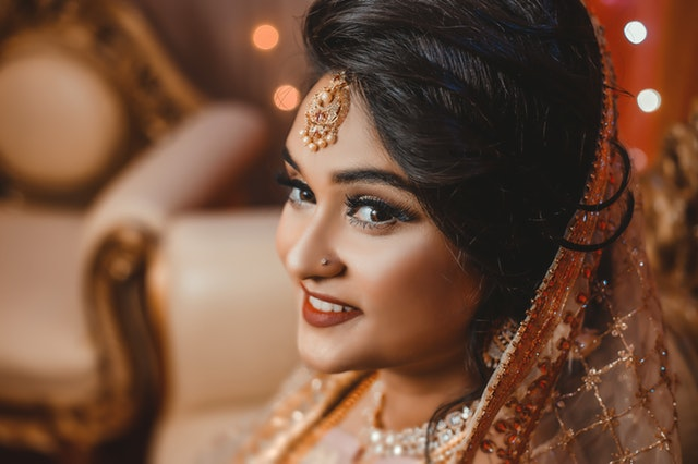 Engagement Makeup for Bride