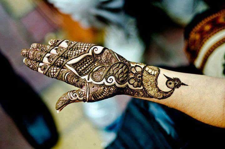 Arabic and Indo- Arabic Mehndi Designs
