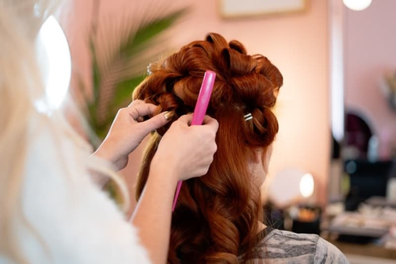 Hair Styling Services At Your Home