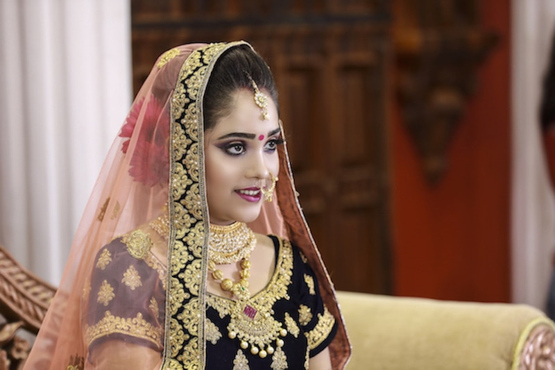 Wedding Reception Makeup services
