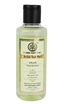Khadi Natural Neem and Tea-tree Herbal Face Wash